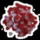 ✭ Confettis de bain moussant - Cœur Fraise ✭