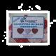 ✭ Confettis de bain moussant - Cœur Fraise - Boîte de 12 gr ✭