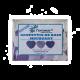 ✭ Confettis de bain moussant Cœur Lavande - Boîte de 12gr ✭
