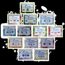 Confettis de bain moussant - SuperPack X13