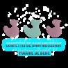 Confettis de bain moussant - Canards