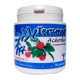 ✭ Acérola - Complément alimentaire - 180 gélules ✭