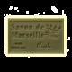 ✭ Savon de Marseille argile verte 125g - Exfoliant doux gommage de la peau ✭