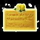 ✭ Savon de Marseille citron jaune 125g - Exfoliant doux gommage de la peau ✭