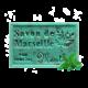 ✭ Savon de Marseille menthe 125g - Exfoliant doux gommage de la peau ✭