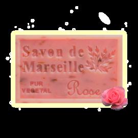 Savon rose 125g