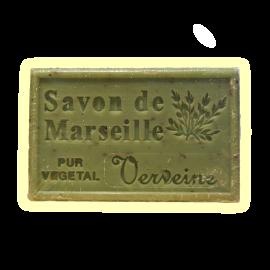 ✭ Savon de Marseille verveine 125g - Exfoliant doux gommage de la peau ✭