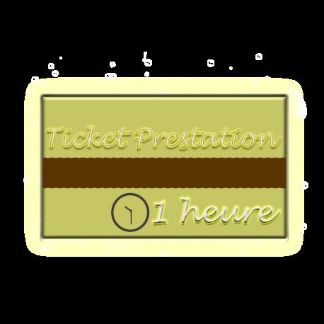 ✭ Ticket Prestation 1 heure - Isua® Biotechnologie ✭