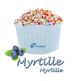 Bombe de bain muffin myrtille