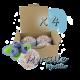 ✭ Bombe de bain muffin myrtille - Boîte X 4 ✭