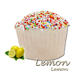 Bombe de bain muffin lemon