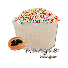Bombe de bain muffin mangue