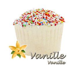 Bombe de bain muffin vanille