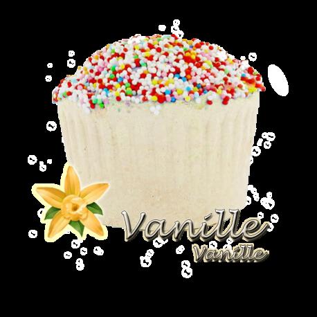 ✭ Bombe de bain muffin vanille - 190gr d''effervescence pour 2 bains ✭