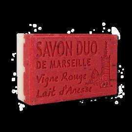 ✭ Savon Bi-parfums Lait d'ânesse / Vigne rouge ✭