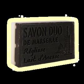 ✭ Savon Bi-parfums Lait d'ânesse / Réglisse ✭