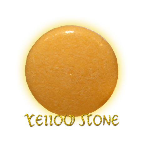 ✭ Shampoing Solide YELLOW STONE - Cheveux gras ✭