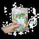 ✭ Confettis de bain moussant papillons - Boite de 100g ✭