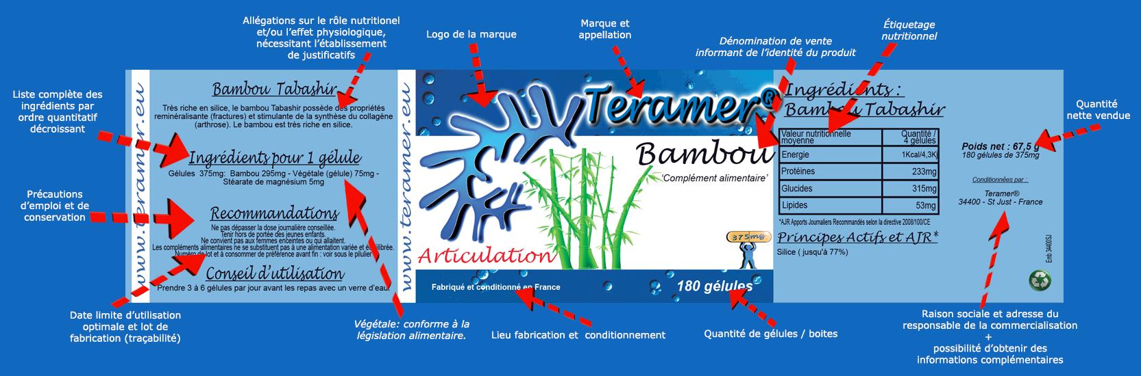 Bambou les garanties d'un compléments alimentaires