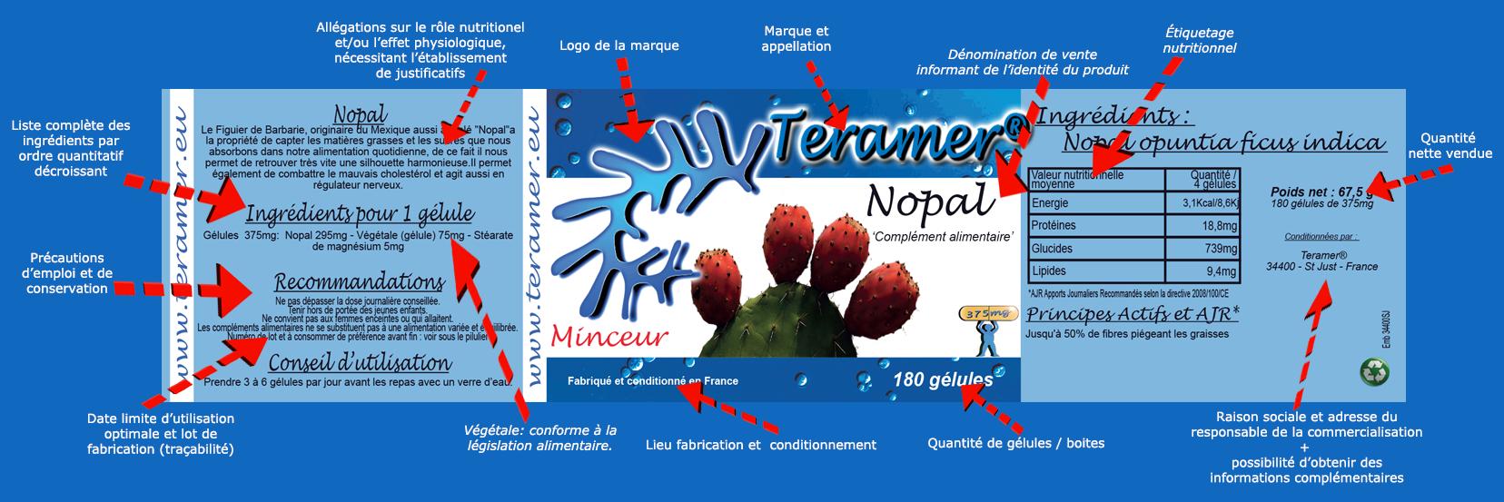 Le Nopal les garanties d'un compléments alimentaires
