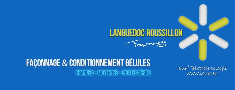 Façonnage gélules Languedoc Roussillon