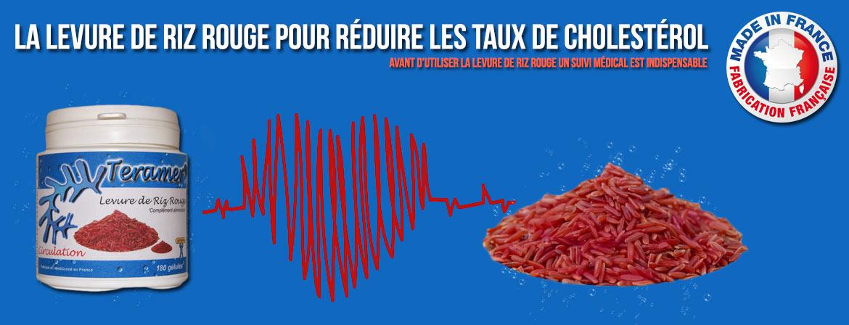 Levure de riz rouge pour réduire les taux de cholestérol